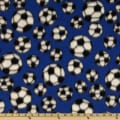 Sports Fleece Soccer Balls Royal