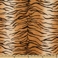 Shannon Minky Cuddle Tiger Gold/Black