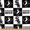 MLB Fleece Chicago White Sox Blocks Black/White