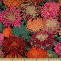 Kaffe Fassett Collective 2010 Drama Japanese Chyrsanthemum Red