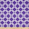 Premier Prints Gotcha Twill Candy Purple/White
