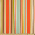 P Kaufmann Indoor/Outdoor Deck Chair Stripe Shell/Aqua