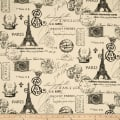 Premier Prints French Stamp Onyx/Natural