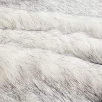 Shannon Lux Fur Husky Black/White