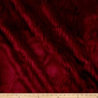 Shannon Faux Fur Luxury Shag Red