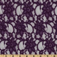 Telio Xanna Floral Lace Dark Purple