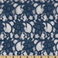 Telio Xanna Floral Stretch Lace Navy