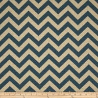 Premier Prints Zig Zag Denim Blue/Natural