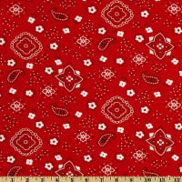 Bandana Prints Red
