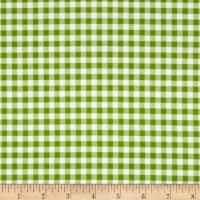 Riley Blake Basics Medium Gingham Green
