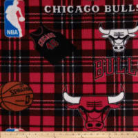 NBA Fleece Chicago Bulls Red