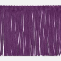 "2"" Chainette Fringe Trim Purple"
