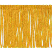 "4"" Chainette Fringe Trim Gold"