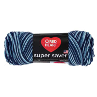 Red Heart Super Saver Yarn 984 Shaded Dusk (m)