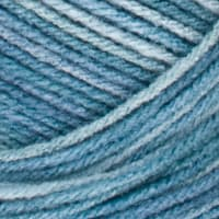 Red Heart Super Saver Yarn 847 Blue Tones