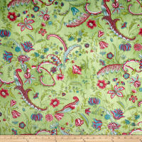 E.Z. Fabric Minky Sweet Pea Lime