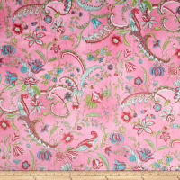 E.Z. Fabric Minky Prints Sweet Pea Pink