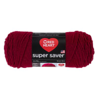 Red Heart Super Saver Yarn 376 Burgundy