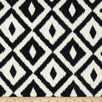 Terrasol Indoor/Outdoor Aztec Inspired Black