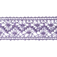 "1 1/2"" Crochet Ribbon Lavender"