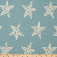 Covington Indoor/Outdoor Starfish Capri Blue