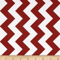 Riley Blake Medium Chevron Crimson