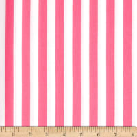 Half Inch Stripe Hot Pink