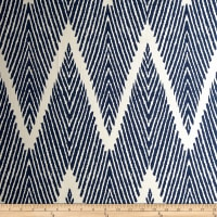 Lacefield Designs Bali Chevron Navy Chalk
