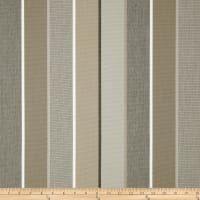 Sunbrella Outdoor Canvas Stripe Milano Charcoal