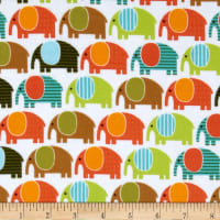 Urban Zoologie Flannel Elephants Wild