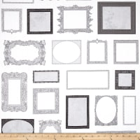 Objects Picture Frames Grey