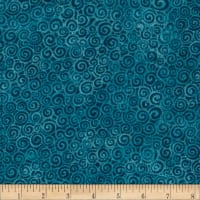 Laural Burch Swirls Aqua