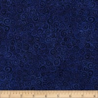 Laural Burch Swirls Dark Royal