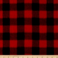 Baum Winterfleece Buffalo Plaid Red