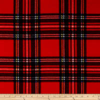 Baum Winterfleece Stewart Plaid Red