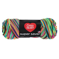 Red Heart Super Saver Econ Blacklight Yarn