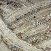 Red Heart Boutique Sashay Sequins Champagne Yarn