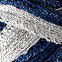 Red Heart Boutique Sashay Team Spirit Yarn Navy/Grey