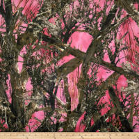 E.Z. Fabric Minky True Timber Pink