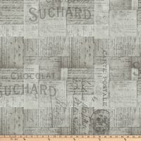 Tim Holtz Eclectic Elements French Script Taupe