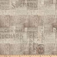 Tim Holtz Eclectic Elements French Script Neutral