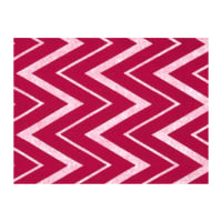 "Fanci Felt 9x12"" Craft Cut Chevron Shocking Pink"