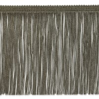 "6"" Chainette Fringe Trim Taupe"