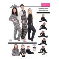 Jalie Footed Pajamas Pattern