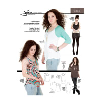 Jalie Raglan Tee Raceback Tanks and Tunics Pattern