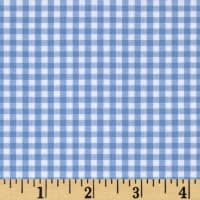 "Kaufman Woven 1/8"" Carolina Gingham Periwinkle"