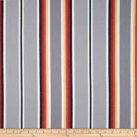 Kaufman Serape Stripes Deluxe Cotton Grey