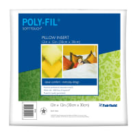"Fairfield Soft Touch Supreme Poly-Fil Pillow 12"" Square"