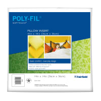 "Fairfield Soft Touch Supreme Poly-Fil Pillow 14"" Square"