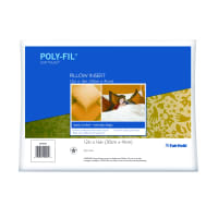 "Fairfield Soft Touch Supreme Poly-Fil Pillow 12"" x 16"""